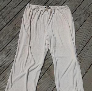 New York &Company Terry Cloth pants 0606